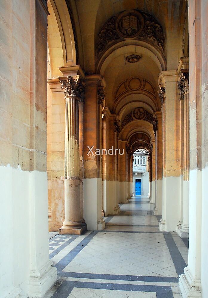 The Portico by Xandru