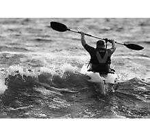 Derrynane Long Beach – Breaching the Wave Crest Photographic Print
