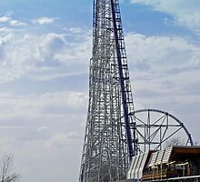 """One Tall Coaster"" by Robert Burdick"
