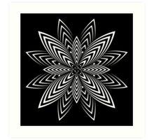 Infinite Flower Art Print
