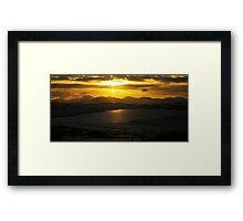 Sundown On The Isle Of Lewis Framed Print