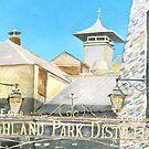 Highland Park Distillery by Ross Macintyre