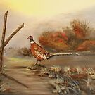 Idaho Long Tail Pheasant by KenLePoidevin