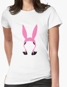 Louise Belcher: Silhouette Style  Womens Fitted T-Shirt