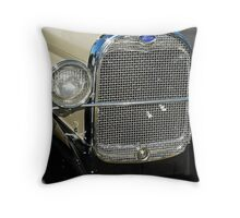 model A grille Throw Pillow