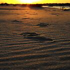 Footprint in the Sand by ValorieB