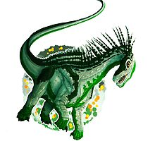 Androsexual Amargasaurus (without text)  by R.A.  Faller