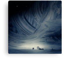 Sky Ice Canvas Print