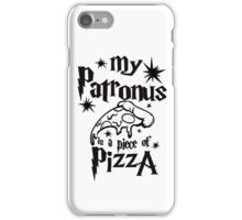 My patronus is a piece of pizza iPhone Case/Skin