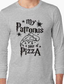My patronus is a piece of pizza Long Sleeve T-Shirt