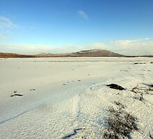 Mullaghmore mountain in winter by John Quinn