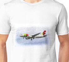 Air Portugal Airbus A319 Art Unisex T-Shirt