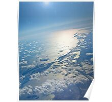 A Beautiful Planet Earth... Sunrise - eastcoast US Poster
