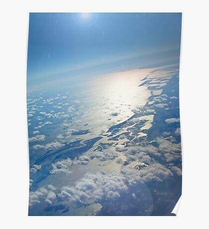 A Beautiful Planet Earth... Sunrise - eastcoast US Poster