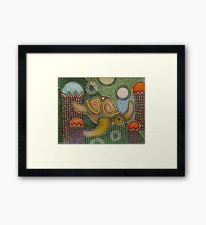 The Garden of Honu Framed Print