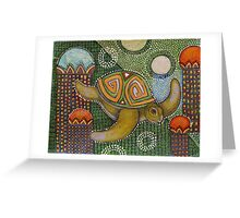The Garden of Honu Greeting Card
