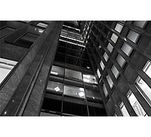 Architectural highrise abstract Photographic Print