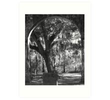Sheldon Church Arch Art Print
