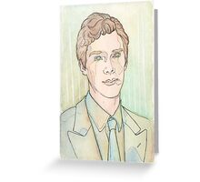 Benedict: in colours Greeting Card