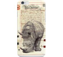 We can't take back what is done or what is past. iPhone Case/Skin