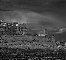 Mono Marsamxett Creek Valletta Malta by Edwin  Catania