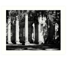 Midday - Sheldon Church Art Print
