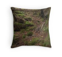 Mossy Path Throw Pillow