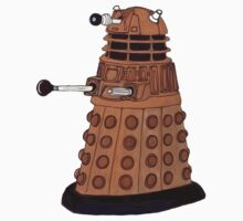 Bronze Dalek. One Piece - Short Sleeve
