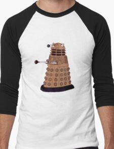 Bronze Dalek. Men's Baseball ¾ T-Shirt