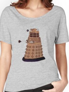 Bronze Dalek. Women's Relaxed Fit T-Shirt