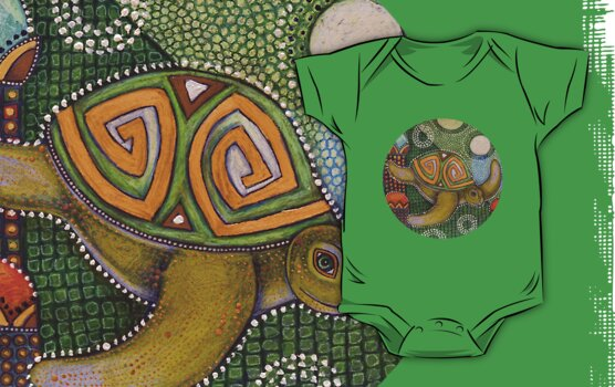 Honu Tee by Lynnette Shelley