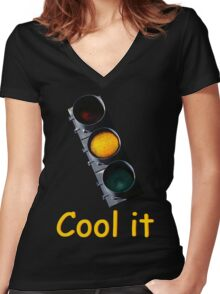 Cool it Women's Fitted V-Neck T-Shirt
