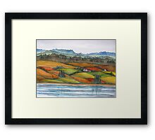 Memories of Cape Breton,  Nova Scotia, Canada Framed Print