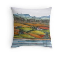 Memories of Cape Breton,  Nova Scotia, Canada Throw Pillow