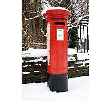 Postbox...a disappearing feature  Photographic Print