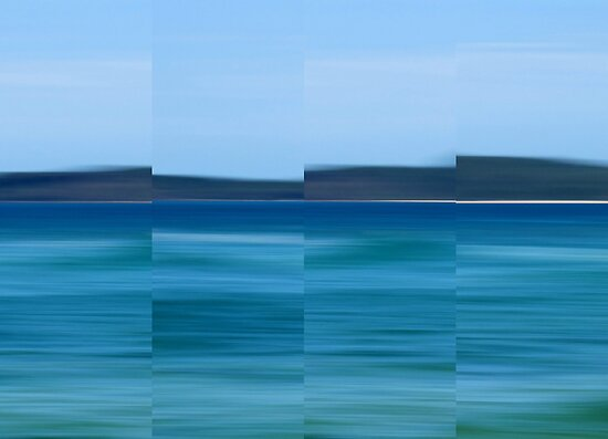 Land Ahoy - Polyptych by Kitsmumma