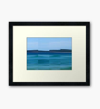Land Ahoy - Polyptych Framed Print