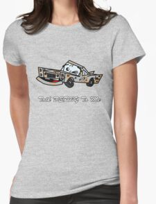 Talk DERBY To Me Womens Fitted T-Shirt