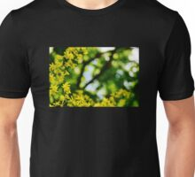 Dreamy Yellow Flowers Unisex T-Shirt