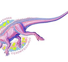 Transgender Tenontosaurus (with text)  by R.A.  Faller