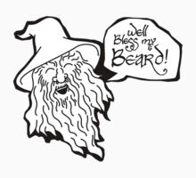 The Hobbit - Gandalf - Beard! by thekinginyellow