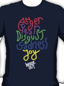 Inside Out characters with the logo! T-Shirt