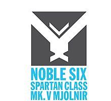 Noble 6 Photographic Print