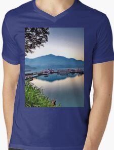 a desolate Taiwan landscape Mens V-Neck T-Shirt