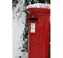 Brilliant Red Postbox Photographic Print