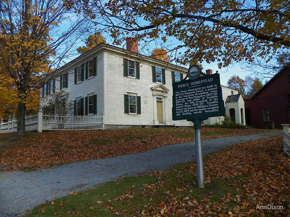 The Pierce Homestead, New Hampshire, USA by AnnDixon