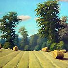 Late August Hay by RickHansen
