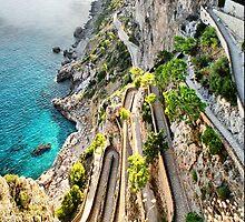 Via Krupp, Capri by andreisky