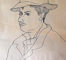 Pen And Ink Drawing Study. by Richard  Tuvey