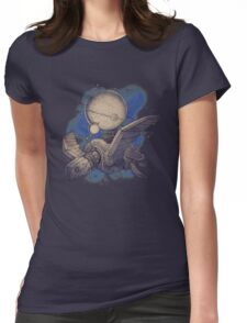 Globe Transporter Womens Fitted T-Shirt